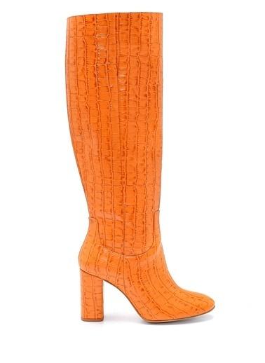 Derimod Kadın Çizme (18520) Klasik Oranj
